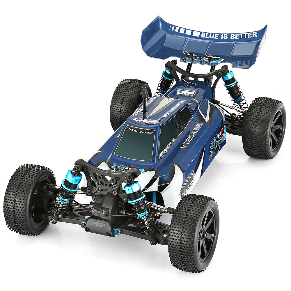 1:10 Scale 4WD 2.4GHz Wireless Remote Control Off-Road RC Truck RTF 60km/H Speed Brushless Motor Splash-Proof ESC Standard Servo цены