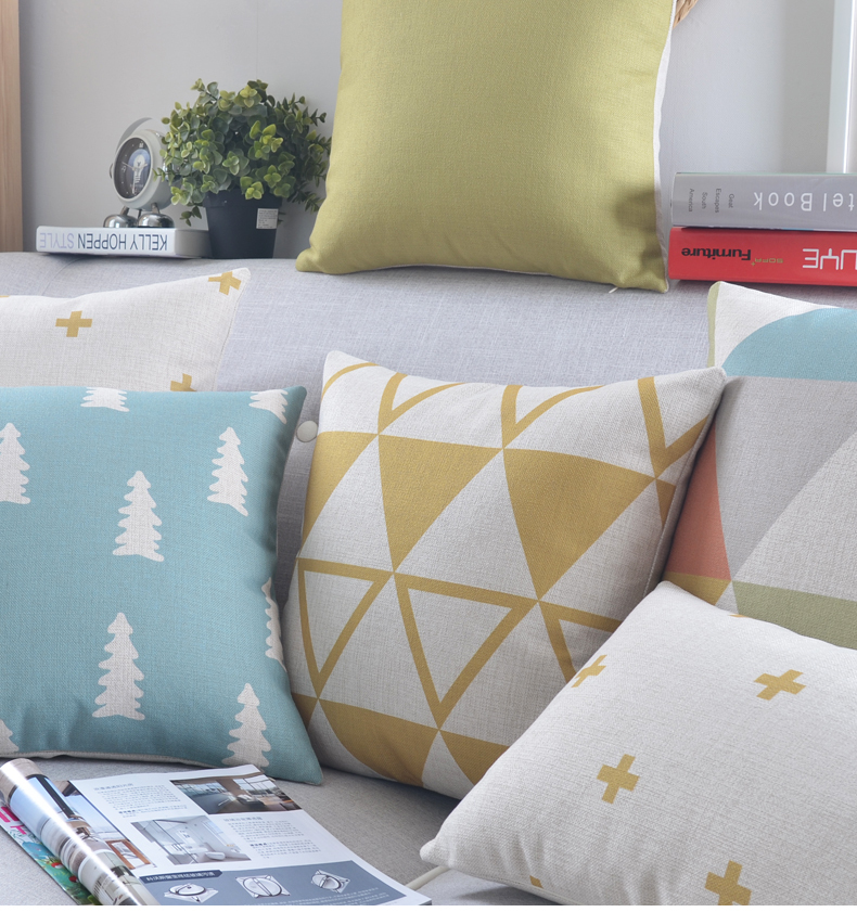 Aliexpress Buy Nordic Style Geometric Throw Pillow Covers