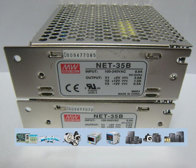 Meanwell Three Groups Output Switch Power NET-35 b 2 Years Warranty New Original