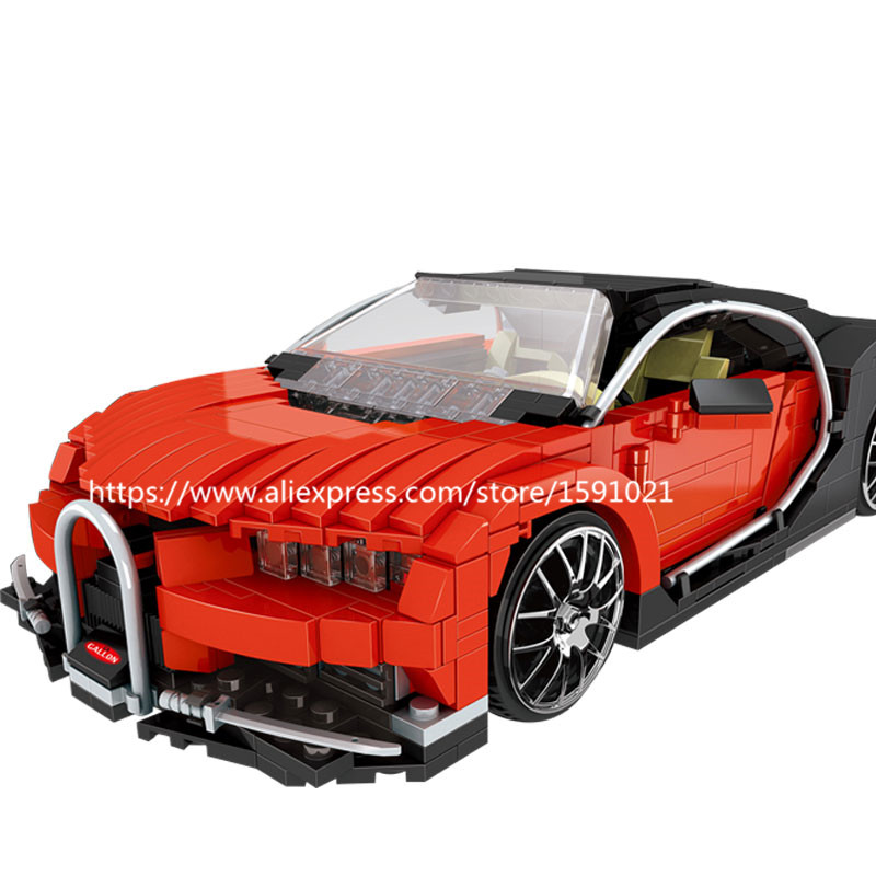 NEW Model building kits compatible with lego Gallon Supercar 3D blocks Educational model building toys hobbies for children lepin 02012 city deepwater exploration vessel 60095 building blocks policeman toys children compatible with lego gift kid sets