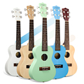 Video Recording Evaluation Concert Ukulele 23 Inch Black Guitarra Guitar Basswood 4 Strings Ukelele Black Handcraft Wood