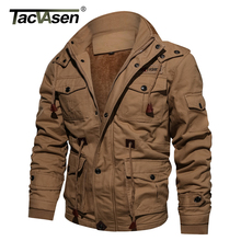 Mountainskin Winter Coats Thick Cotton Wool Male Casual Slim Fit Nylon Long Jacket