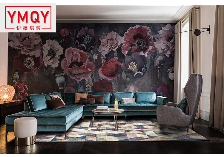 YMQY Style nordique doux Polyester tapis pour salon chambre tapis maison tapis délicat zone tapis plancher porte tapis mode tapis H
