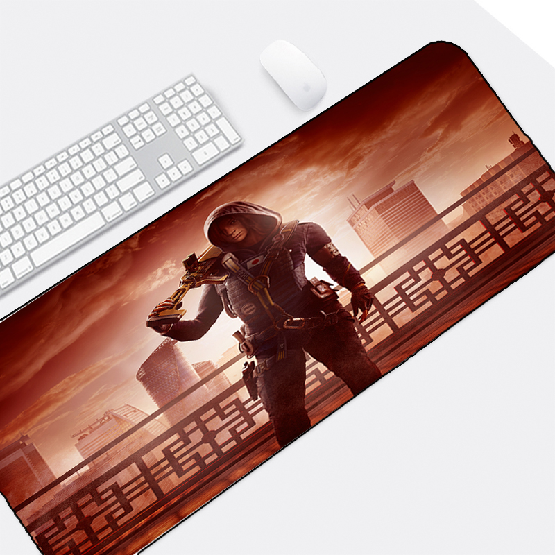 Mairuige Popular Fps Game Gaming Mousepad R6 Tom Clancys Rainbow Six Siege 400x900MM Series Locked Edge for Pc Game Lol Csgo