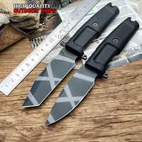 LCM66 高品質の固定刃ナイフ 7Cr17Mov 刃 TPR ハンドル狩猟ツール極値キャンプナイフ屋外サバイバル屋外ツール