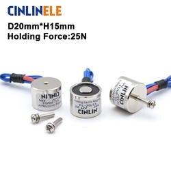 CL-P 20/15 Холдинг Электрический магнит подъема 2,5 кг/25N соленоидный Электромагнит DC 6 в 12 В 24 в нестандартный на заказ