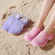 Beach Sandals Women Summer Men Walking Shoes Plastic Fishing Waders Outdoor Couples Swimming Sneaker