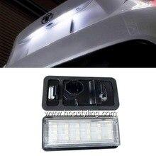Для Toyota Land Cruiser 120 Prado Land Cruiser 200 Lexus GX470 стайлинга автомобилей Нет Ошибка LED Белый задний фонарь освещения номерного знака авто лампы