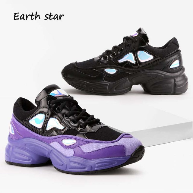 39e3d70998 EARTH STAR Autumn Casual White Shoes Women Brand Sneaker Lady Platform Shoe  Breathable Female footware All