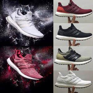 bc41c08ad248d 2018 Sale Ultra Boost 3.0 4.0 Triple Black White Men Women Running Sports  Shoes UB 3.0 4.0 Quality Sneaker