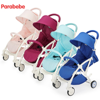 2018 NEW light baby stroller foldable travel baby pram umbrella car portable can sit /lie on the plane with shopping bag