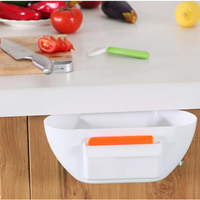 Useful Colorful Eco Friendly Novelty Kitchen Cupboard Drawer Door Waste Bin Scrap Trap Storage Box Bowl
