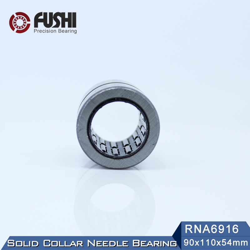RNA6916 Bearing 90*110*54 mm ( 1 PC ) Solid Collar Needle Roller Bearings Without Inner Ring 6634916 6354916/A BearingRNA6916 Bearing 90*110*54 mm ( 1 PC ) Solid Collar Needle Roller Bearings Without Inner Ring 6634916 6354916/A Bearing