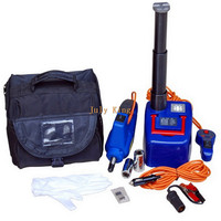 HKnoble Car Hydraulic Jack With LED Light + Electric Wrench, Max Top heavy 1200KG Min/Max Height:170/410MM, 350N.m Max Torque