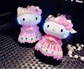 Envío de la Alta Calidad de la Capacidad 6600 mah Powerbank Emergencia Lindo Encantador Queen Hello Kitty para IOS Android Móviles Banco de Potencia