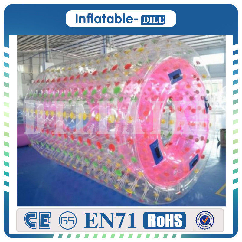 Inflatable Water Walking Roller Pool Floats Toys Walking On Water Rolling Ball Inflatable Roller Ball For Inflatable Water Park