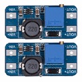 2Pcs MT3608 DC-DC Step Up Power Apply Booster Power Boost Pressure Plate Module MAX 28V 2A for Arduino