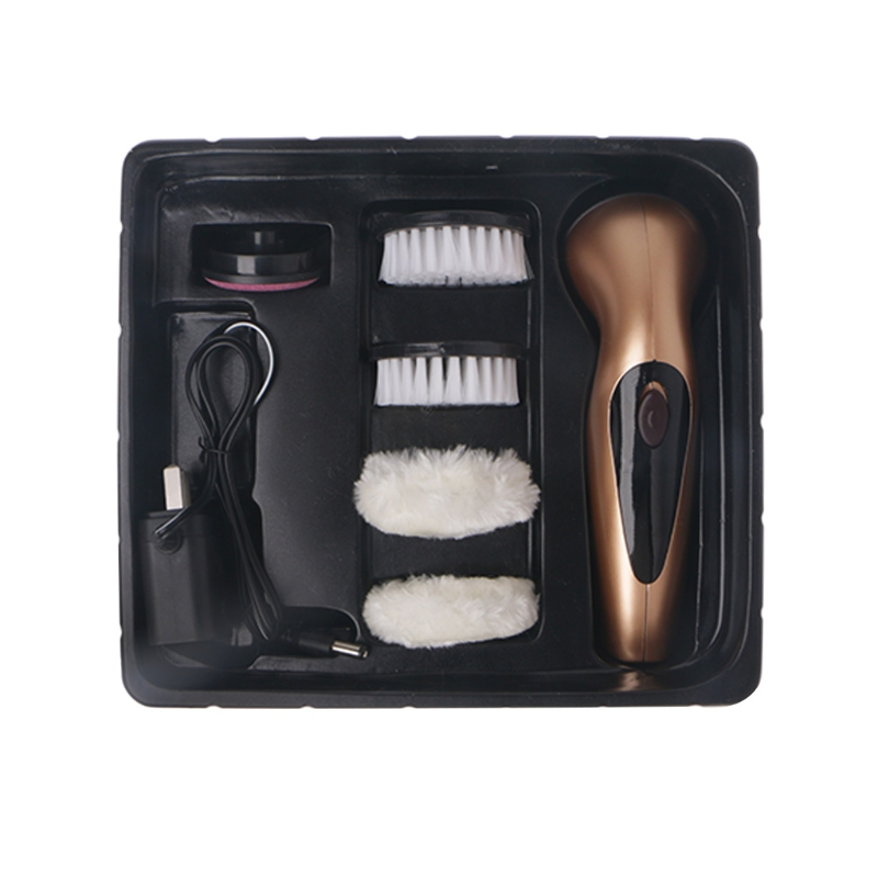 Portable Handheld Rechargeable Automatic Electric Shoe Brush Shine Polisher intelligent sole shoe polisher shoe cleaning machine household automatic shoe cleaner