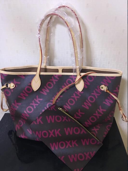 Leder Aus Echtem Neverful Taschen Verschiffen Neue Freies Emarald Handtasche Frauen mm Gm Tasche 2018 Mode HxwRawz0
