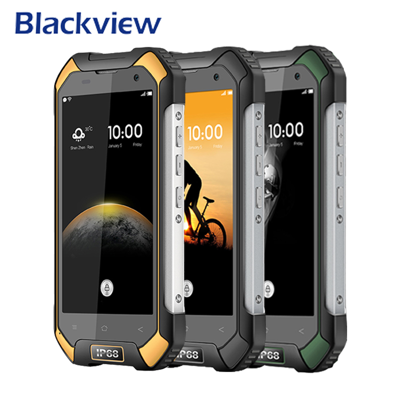 Blackview BV6000S Waterproof Smartphone 4G LTE IP68 4 7 HD MT6735 Quad Core Android 6 0