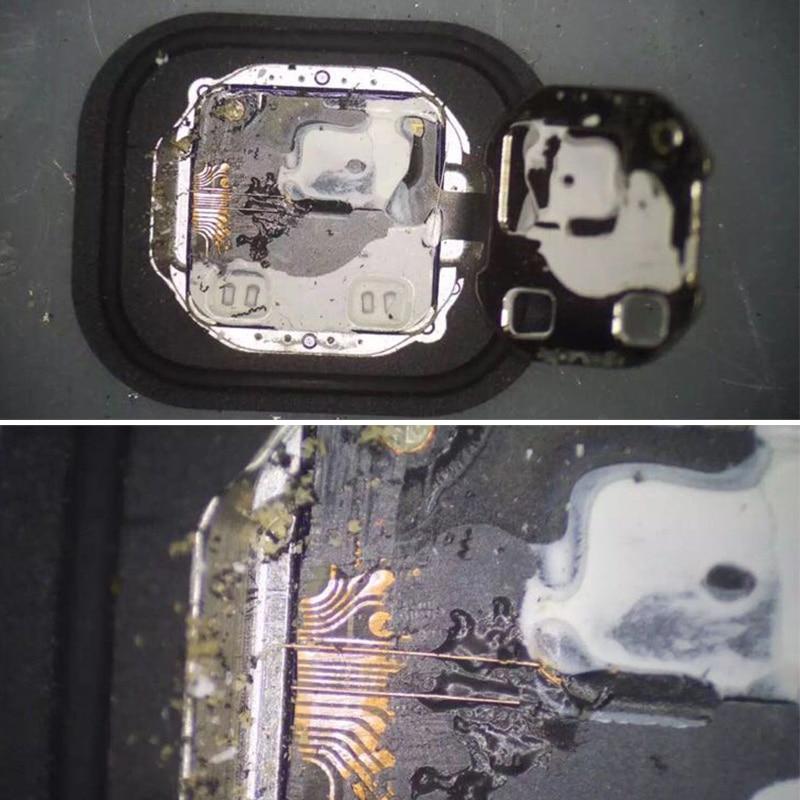 Купить с кэшбэком Kasi 0.01mm 0.02mm * 120m Enameled Copper Wire Polyurethane Enameled Copper Line Soldering Solder For iPhone Chip Conductor Wire