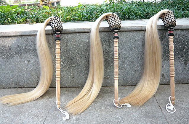 Real Horsetail Whisk Daoist Martial Arts Fu Chen