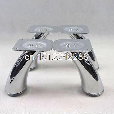4pcs Set Height 125mm Metal Furniture Cabinet chair sofa leg feet