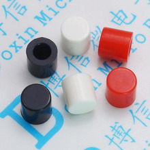 Free shipping 100PCS A56 keycap three colors for 6X6 series button 6 * 6 touch switch cap