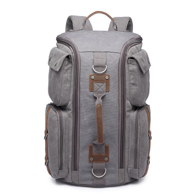 Latest Travel Bag, Stylish Large-Capacity Practical Dual-Use School Backpack Strong Hand-Held Comfortable Multi-Function Tr