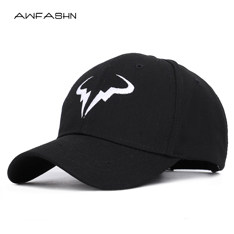 2019 fashionable Rafael Nadal   Baseball     Cap   Tennis Player No Structure Dad Hat Men Women Snapback   Caps   bone Embroidery Nadal Hats