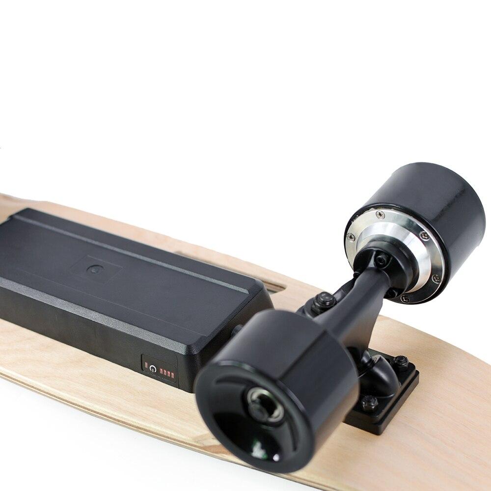 2019 Nouveau Électrique Planches À Roulettes Portable Électrique planche de skate avec Sans Fil De Poche télécommande pour Adultes et Adolescents - 5