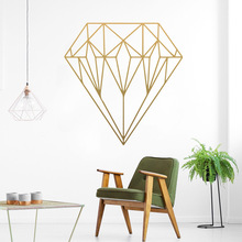 Hot Sale diamond Wall Sticker Home Decoration Accessories Removable Wallpaper