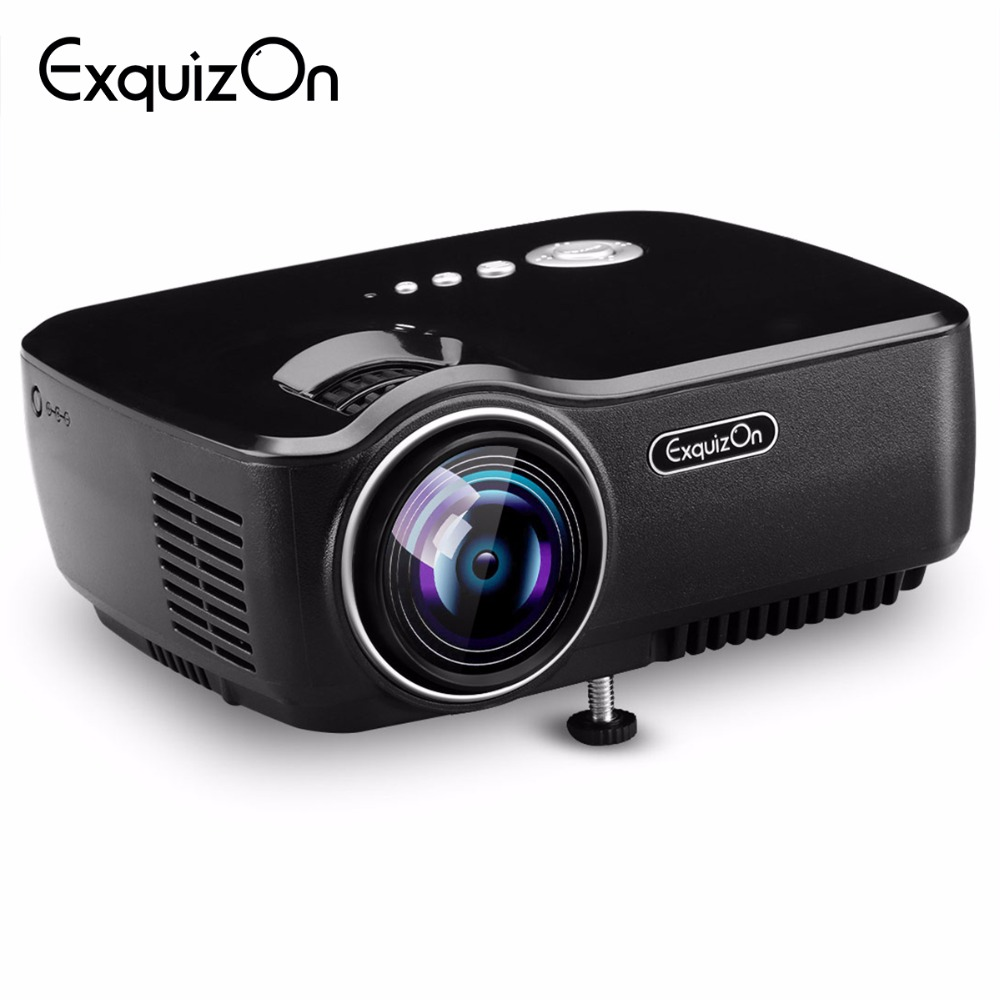 Buy exquizon gp70 1800 lumens led for Highest lumen pocket projector