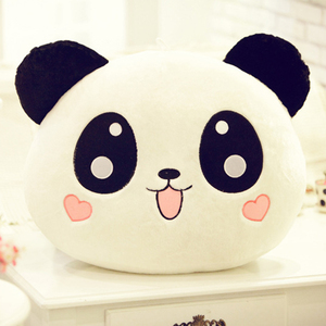 Image 1 - 20cm Cute Cartoon Panda Plush Stuffed Animal Toys For Baby Infant Soft Cute Lovely Doll Gift Present Doll Children Toys