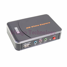 HD Video Capture EZCAP 1080P Game Capture HDMI YPbPr Recorder Box into USB Disk with Edit Software for XBOX One/360 PS3 Newest
