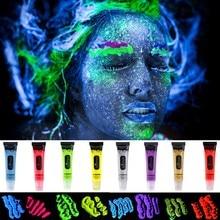 Fluorescent Flashing Body Art Paint.