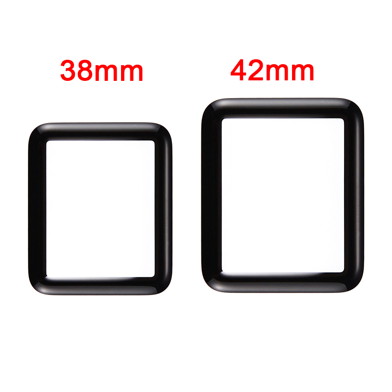 New Touch Panel Screen Front Outer Glass Lens For Apple Watch Series 2 Series 3 38mm 42mm Replacement Parts With Tracking