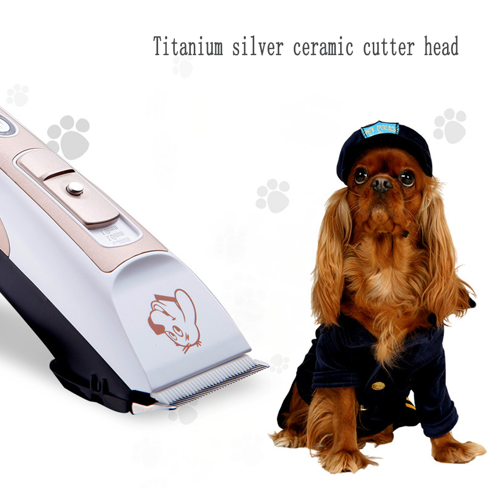 Pet tipper cat shaver charging mute teddy dog shaving fenestuffs professional pet electric push cats and dogs rechargeable dog shaver teddy electric fader dog shaving knife