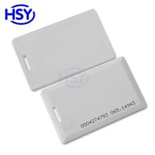 RFID Clamshell Card Access Control EM4100 125Khz Proximity EM ID PVC Smart Cards цена в Москве и Питере