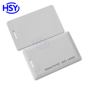 RFID Clamshell Card Access Control EM4100 125Khz Proximity EM ID PVC Smart Cards 10pcs lot rfid card 125khz tk4100 blank smart card em4100 id pvc card with uid series number for access control not copyable