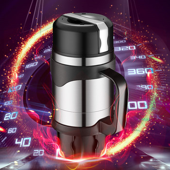 Car Kettle Mug 100 Degree 12v Boiled Water Universal Heat Cup 24v Truck Electric Cup Water Heater