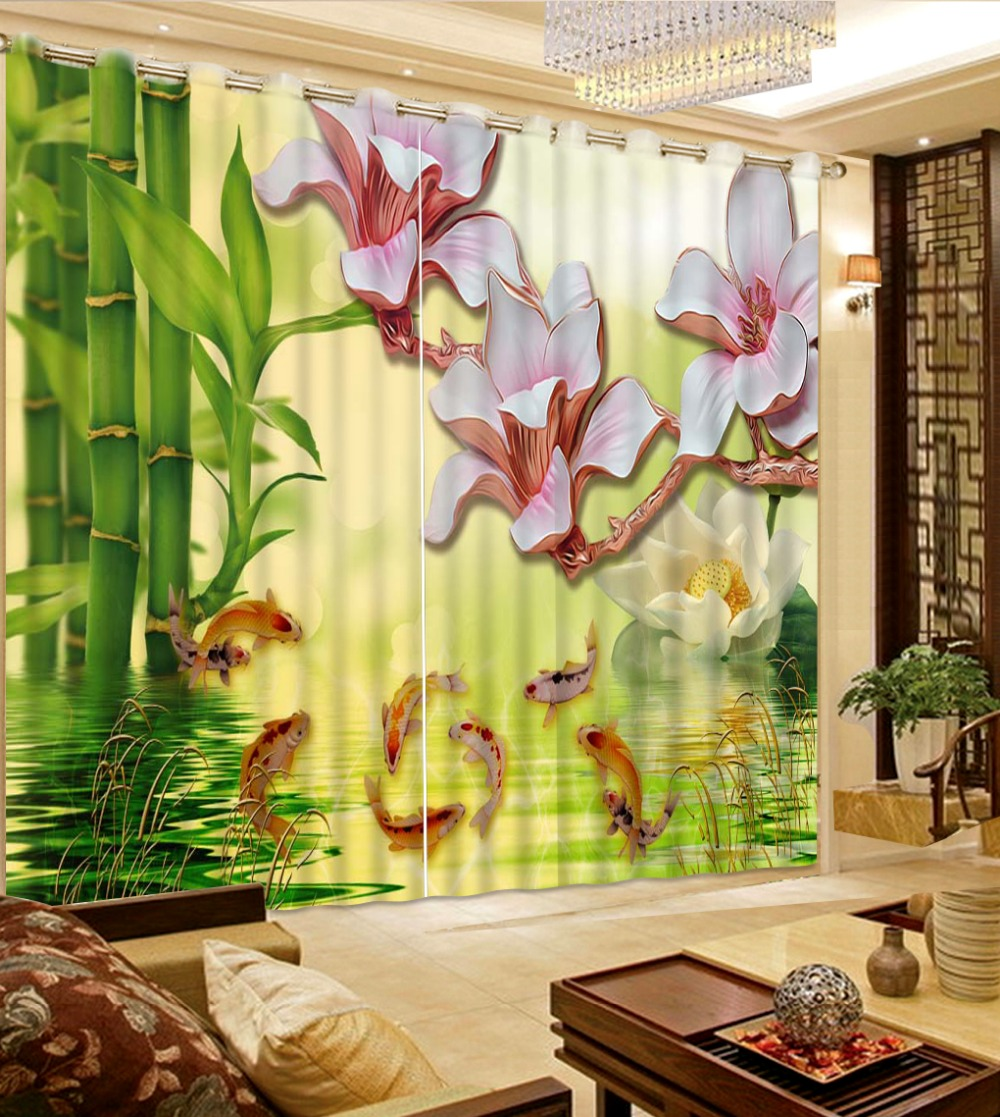 custom window curtains tall modern window curtains custom for living room luxurious fish rich bamboo kitchen ⓪modern