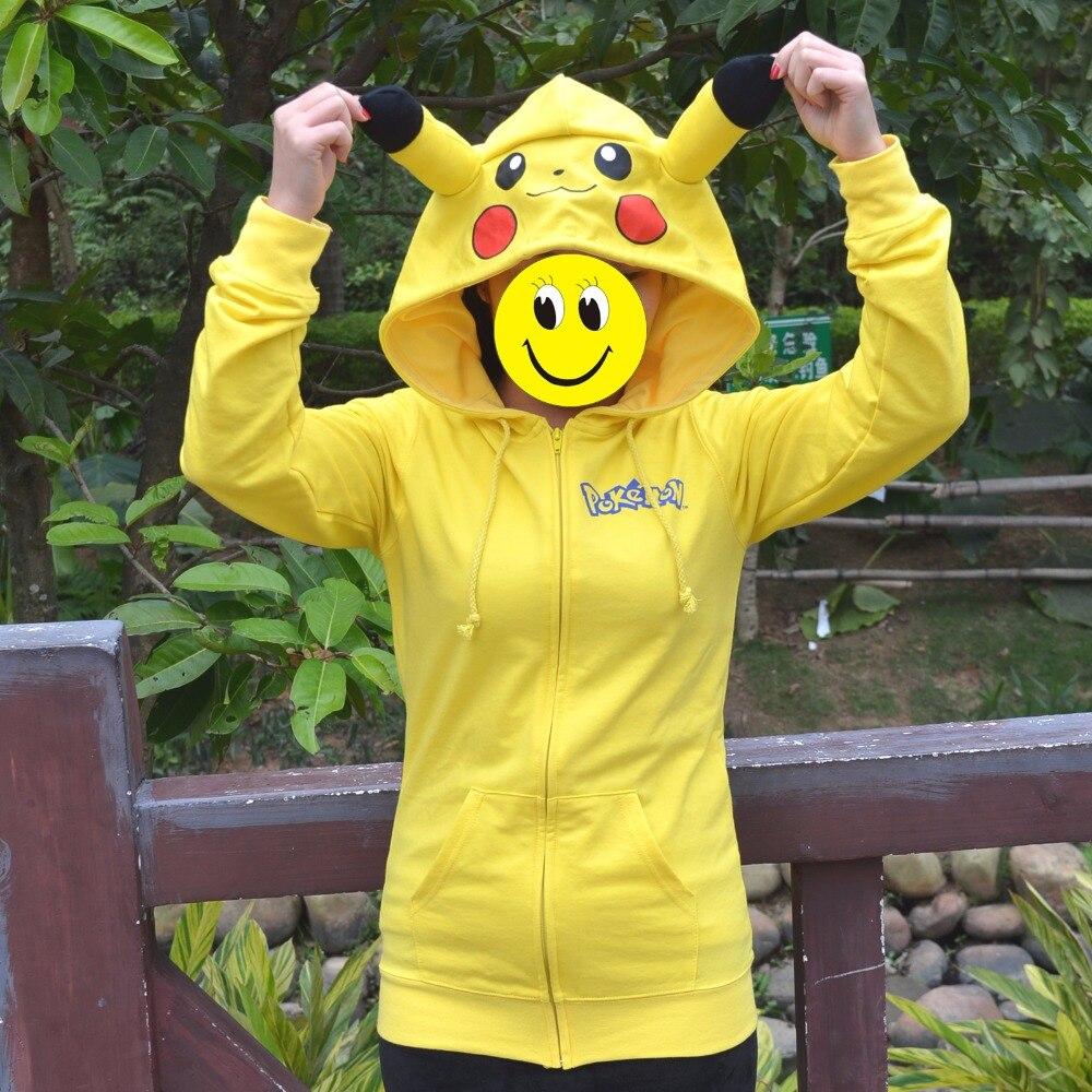Nouveau Animé Japon Anime Frais Pokemon Pikachu Jaune femmes