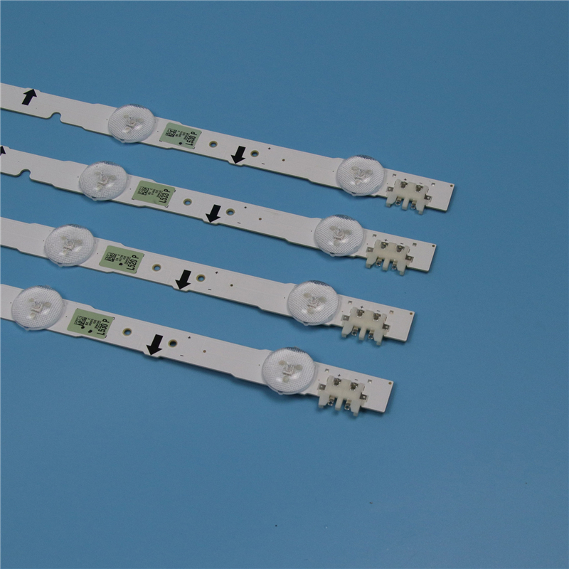 4 Piece LED Array Bars For Samsung UE32H5570SS UE32H5005AK UE32H5020AK 32 inches TV Backlight LED Strip Light Matrix Lamps Bands in Computer Cables Connectors from Computer Office