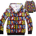 2016 New Super Hero Boys Hoodies Avengers Sweatshirts Kids Cartoon Hooded Jacket Children's Outwear Baby Clothing