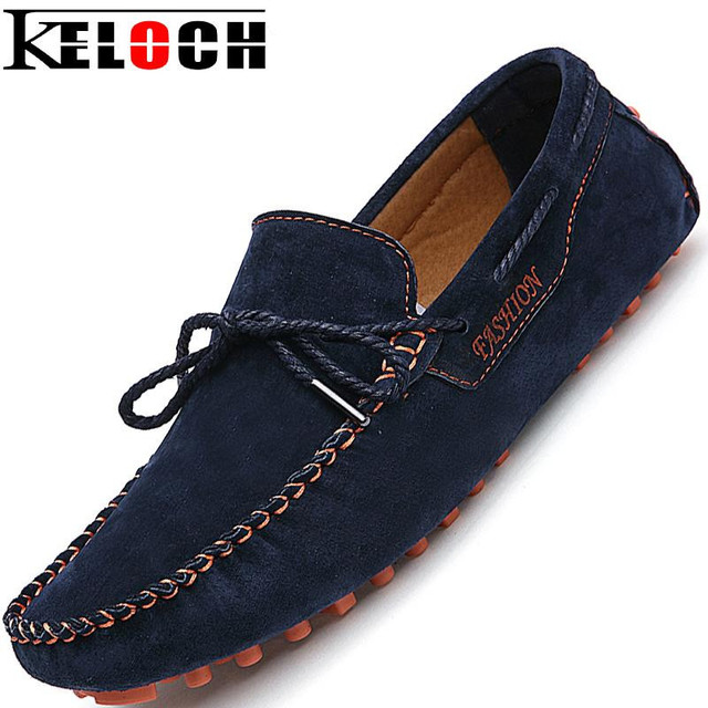 2016 Натуральная Кожа Мужчины Мокасины Мода Обувь для Вождения Мокасины Повседневная мужская Квартиры Обувь Мужская Замши Loafers