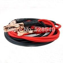 1 UNIDS 2.2 M batería de Coche cable eléctrico cable De Alimentación de emergencia 500 Ejemplos con clip de la batería más tambaleante