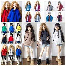 Doll Casual Wear T-Shirt BJD Doll Clothes Suitable for BJD SD Uncle Fashion 1/3 1/4 1/6 Wild Plaid Shirts Coat Dolls Accessories(China)