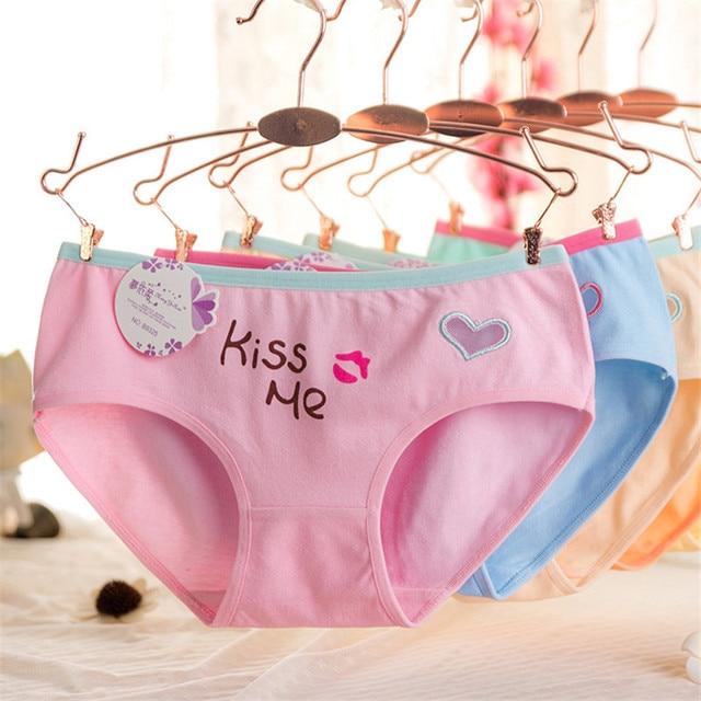 New 2016 Cute Letter Underwear For Children Cute Girls