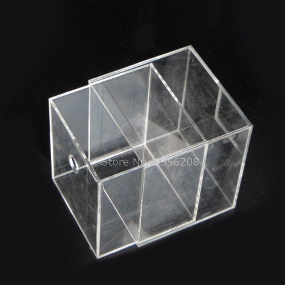 Contenedor de almacenamiento de caja de acrílico multiusos con agujero - 2